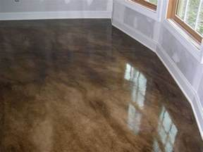 Can You Stain A Painted Deck by Stained Concrete Floors Would Add Radiant Heat Live