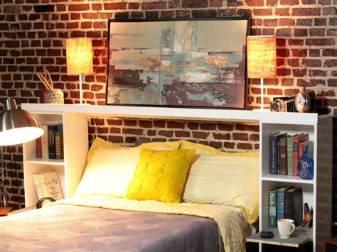 headboard storage ideas how to make a headboard out of storage crates how tos diy 1596