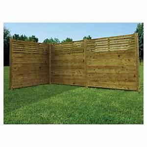 Panneau De Cloture En Bois : cloture bois clture bois blavet cltures en bois varies ~ Premium-room.com Idées de Décoration