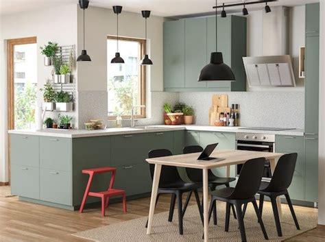 green  environmentally conscious kitchen ikea