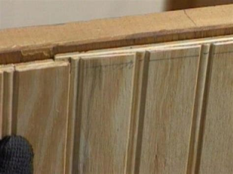 Beadboard Panels : How To Install Beadboard Paneling