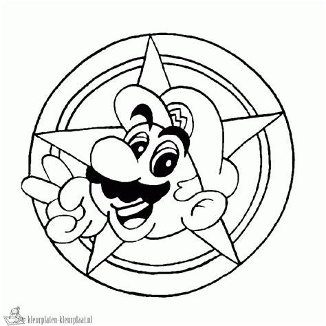 Kleurplaten Mario Bros by Kleurplaten Mario Bros Kleurplaten Kleurplaat Nl