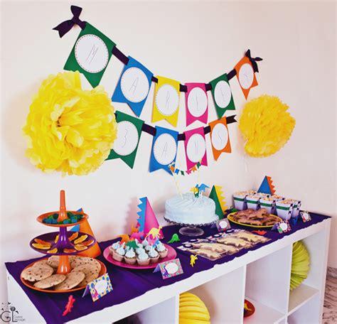 decoration anniversaire 1 an garon d 233 coration anniversaire dinosaure tout pour une f 234 te b 233 b 233