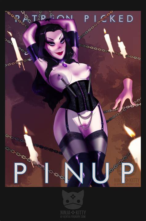 Nude Pinup Pic Morticia Addams Luscious