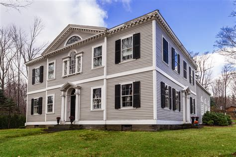 New England Style House As Colonial Ideas  House Style Design