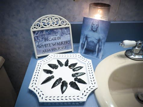 Even The Bathroom Was Themed Party Game Of Thrones