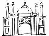 Coloring Ramadan Islamic Printable Colouring Sheets Mosque Ausmalbilder Creative Eid Children Projects Acraftyarab sketch template
