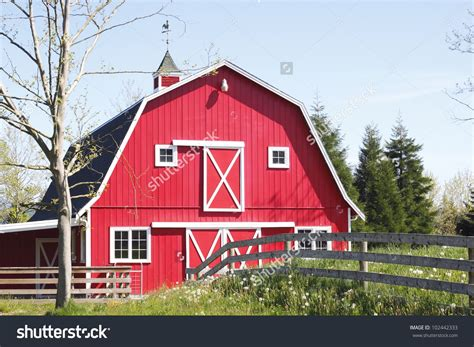 Red Barn Stock Photos, Images, & Pictures