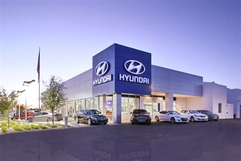 Hyundai Dealers by Camelback Hyundai Hyundai Dealership Az