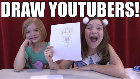drawing youtubers challenge aphmau ld shadowlady
