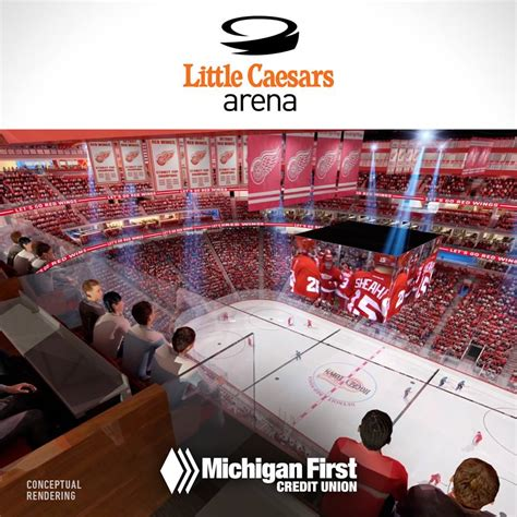 Little Caesars Arena: Modern Amenities Inside and Out ...