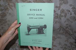 Professional Service Manual On Cd For Singer 331k1 And