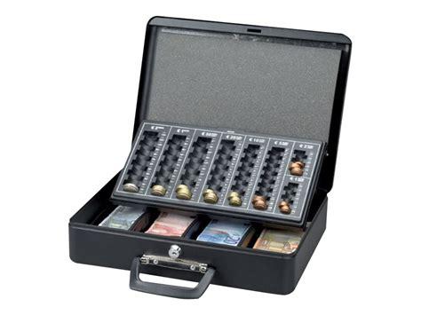 bureau de caisse maul caisse à monnaie avec trieur de pièces 37 x 29 x