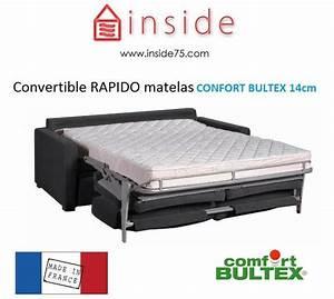 Canapé Lit Bultex : canape convertible 2 places bultex maison et mobilier d 39 int rieur ~ Teatrodelosmanantiales.com Idées de Décoration