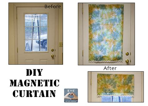 friday diy magnetic curtain the unextreme