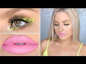 Chartreuse Graphic Eyeliner ♡ Fun Neon Makeup Tutorial