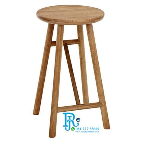 Jual Kursi Bar Stool jual kursi bar stool sungkai modern royal jati klasik