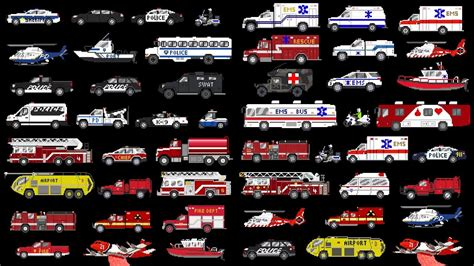 Emergency Vehicles Collection