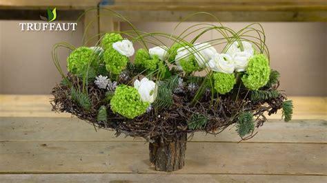 floral composition de no 235 l avec des branches jardinerie truffaut tv