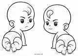 Coloring Pages Babies Printable Cool2bkids sketch template