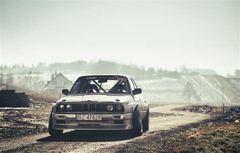 Volvo Drift Wallpaper by Wallpaper Bmw Drift Car Front Sun E30 Road Silver