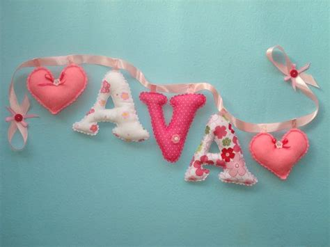 shabby chic fabric letters 138 best fabric letters name banners images on pinterest fabric letters baby presents and