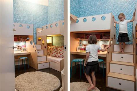 amenager chambre pour 2 filles idée déco chambre la chambre enfant partagée