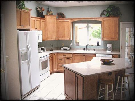 Small L Shaped Kitchen Remodel Ideas With Island Design