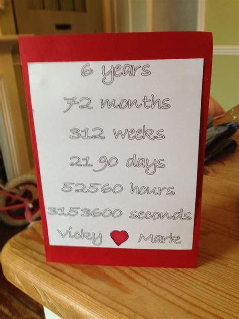 year anniversary card  anniversary gifts