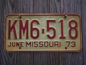 Trouver Proprietaire Plaque Immatriculation : ancienne plaque d 39 immatriculation americaine vintage usa ~ Maxctalentgroup.com Avis de Voitures