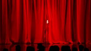 Giphygif for Theatre curtains gif