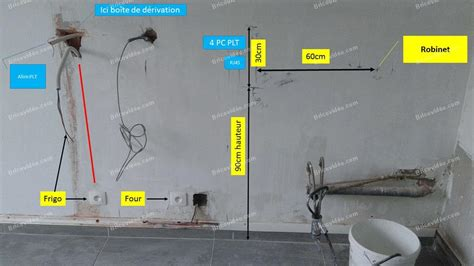 installation electrique cuisine bricovidéo conseils bricolage électricité demande d 39 aide