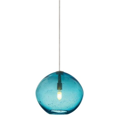 lbl lighting mini isla 1 light satin nickel aqua xenon