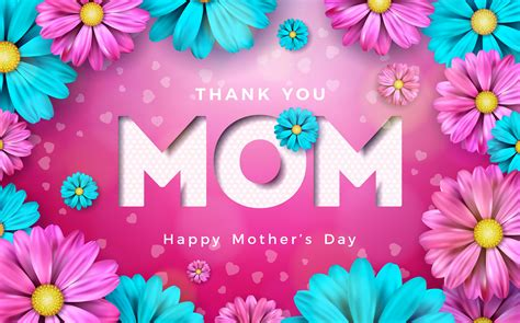 happy mothers day greeting card   vectors