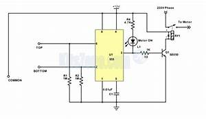 Automatic Water Level Controller Circuit Diagram Using 555