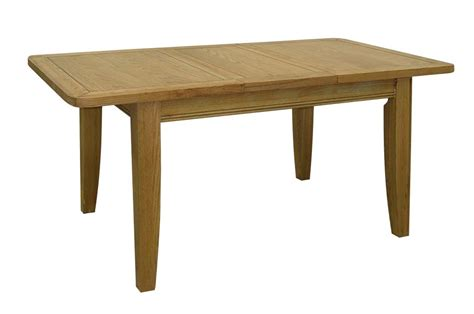 Extended Dining Room Tables by Linden Solid Oak Dining Room Furniture Extending Dining