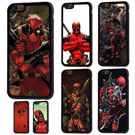 Casing Iphone 5c Deadpool deadpool marvel comics soft rubber phone for iphone 4