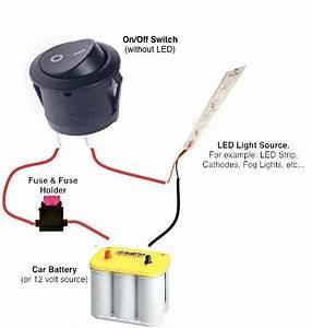 Led Wiring Diagram Mini Rocker : buy 12v led round rocker switch remotes switches ~ A.2002-acura-tl-radio.info Haus und Dekorationen