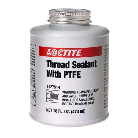 teflon kleben loctite loctite thread sealant with ptfe 16 fl oz brush can