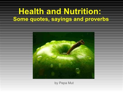 famous quotes healthy food quotesgram