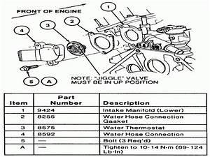 28 2001 Ford Taurus Radiator Hose Diagram
