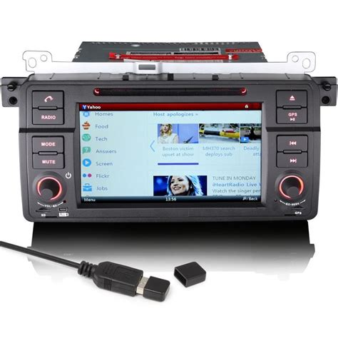 bmw 3 series e46 m3 satnav gps car stereo bluetooth usb dvd ipod ready ebay