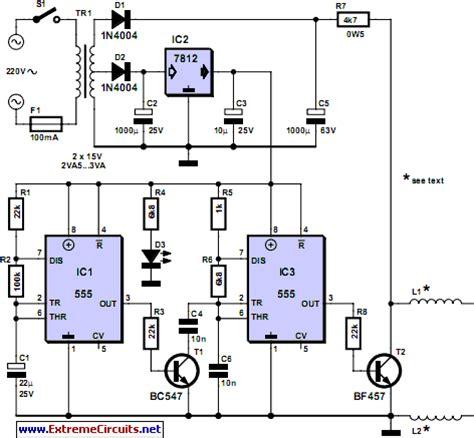 Pipe Descaler Circuit Diagram