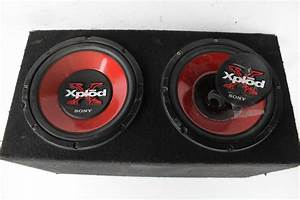Sony Xplod 12 U0026quot  Speakers