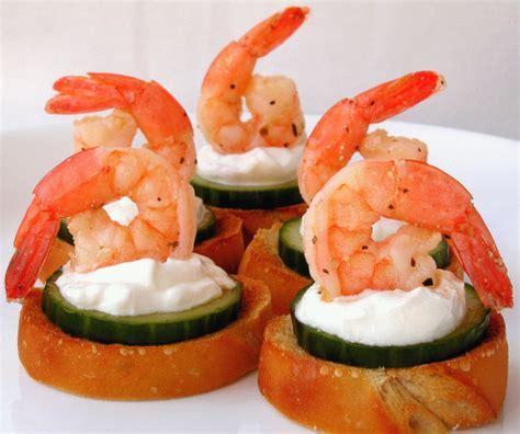 canap cuisine marinated shrimp canapes recipe food com