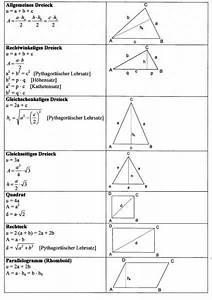 Mathe Flächeninhalt Berechnen : mathematik formeln neue mittelschule mieming ~ Themetempest.com Abrechnung