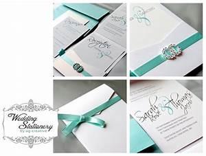 modern pocket fold wedding invitation by ag creative me With multi pocket wedding invitations