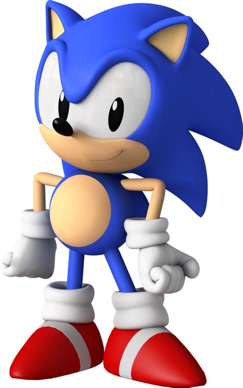 Classic Sonic - Sonic the Hedgehog Fan Art (37675898) - Fanpop
