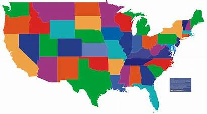 Map States United Clipart State Clip Usa