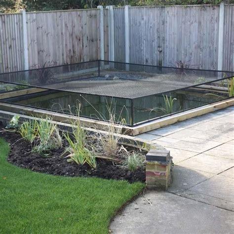 raised steel pond cover harrod horticultural uk